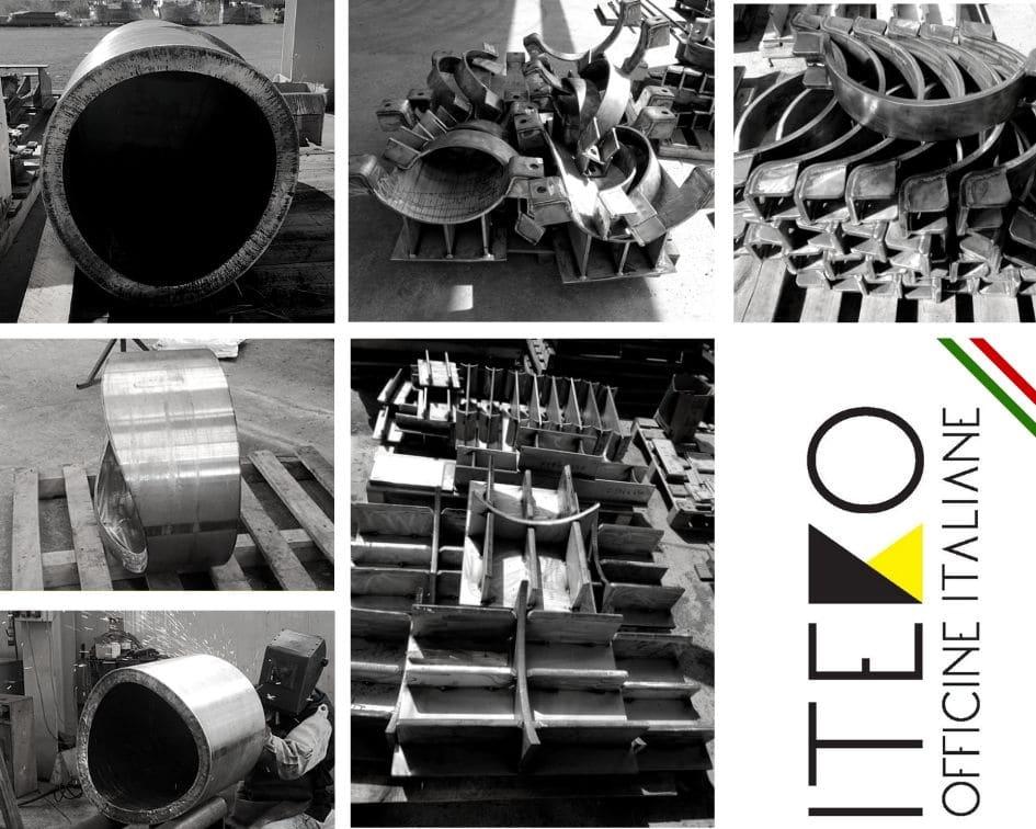 Pipe Supports Inox Iteko