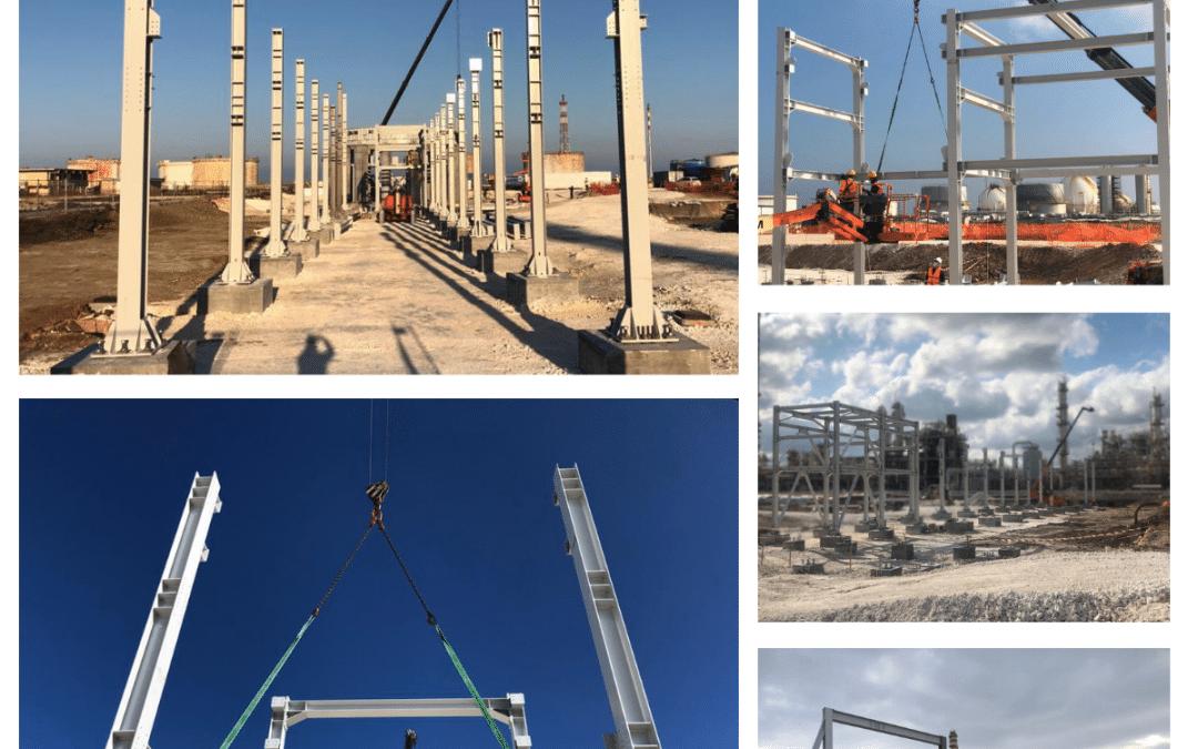 Pipe Rack, progetto in corso…